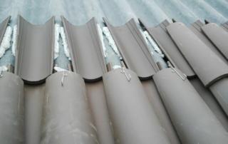 tejado ventilado de teja cerámica