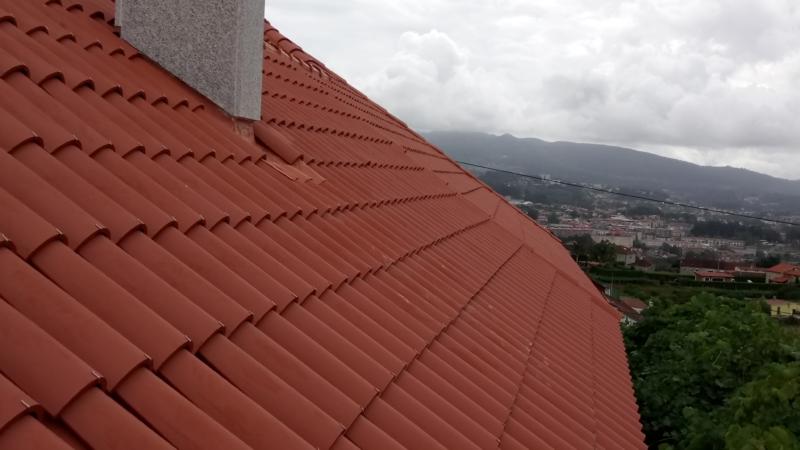 tejado de teja con sistema Verea System